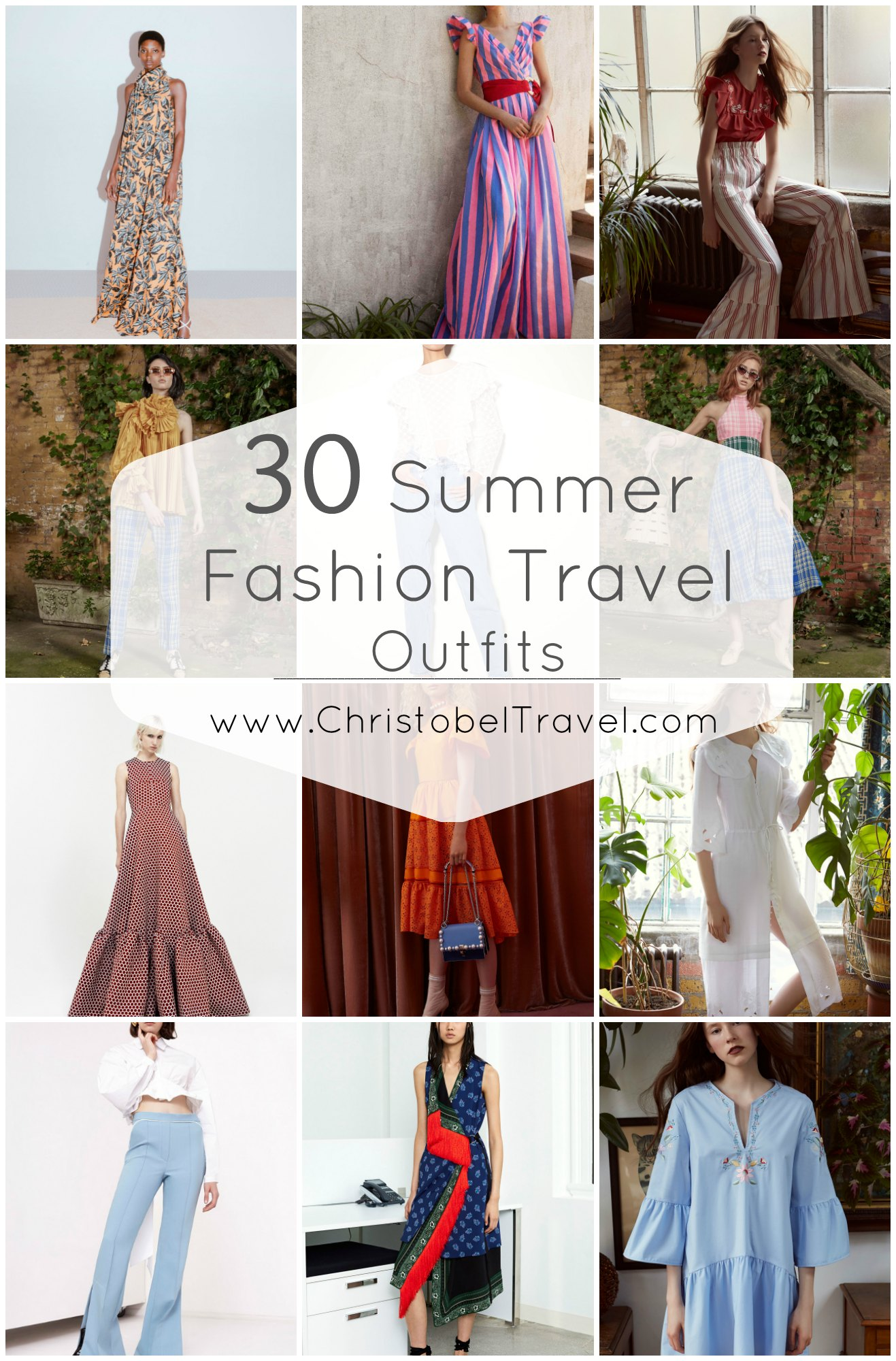 30 Summer Fashion Outfits To Inspire Your Travel Wardrobe